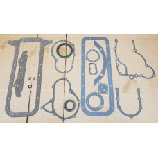 CASE 188D / 207D BOTTOM GASKET SET W/ CRANK SEALS A189524 / A189537 430CK 580B